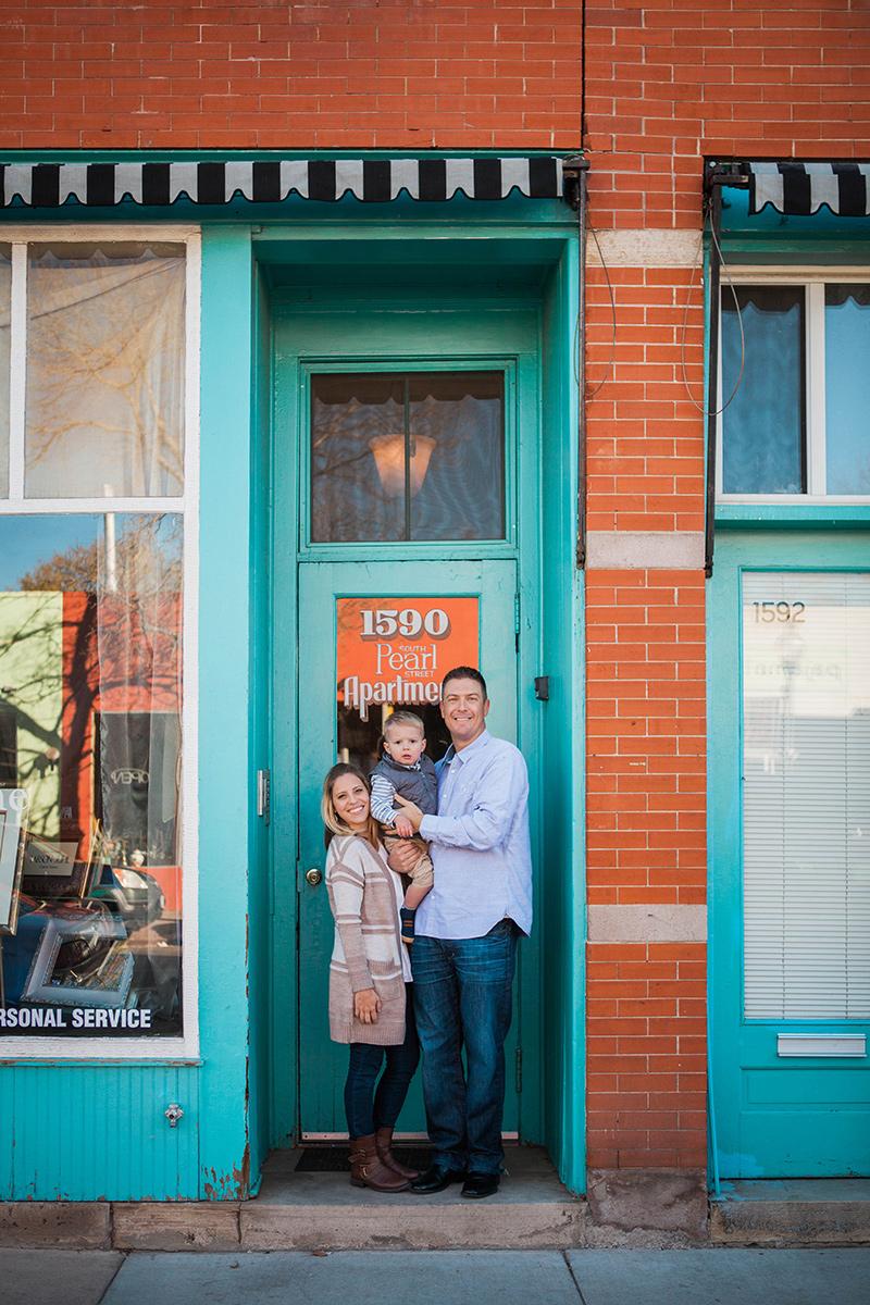 denver south pearl street platt park family portrait photographer