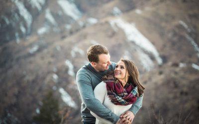 Mountain Engagement Photographer