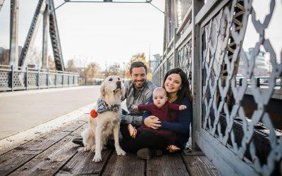LoDo Denver Family Portrait