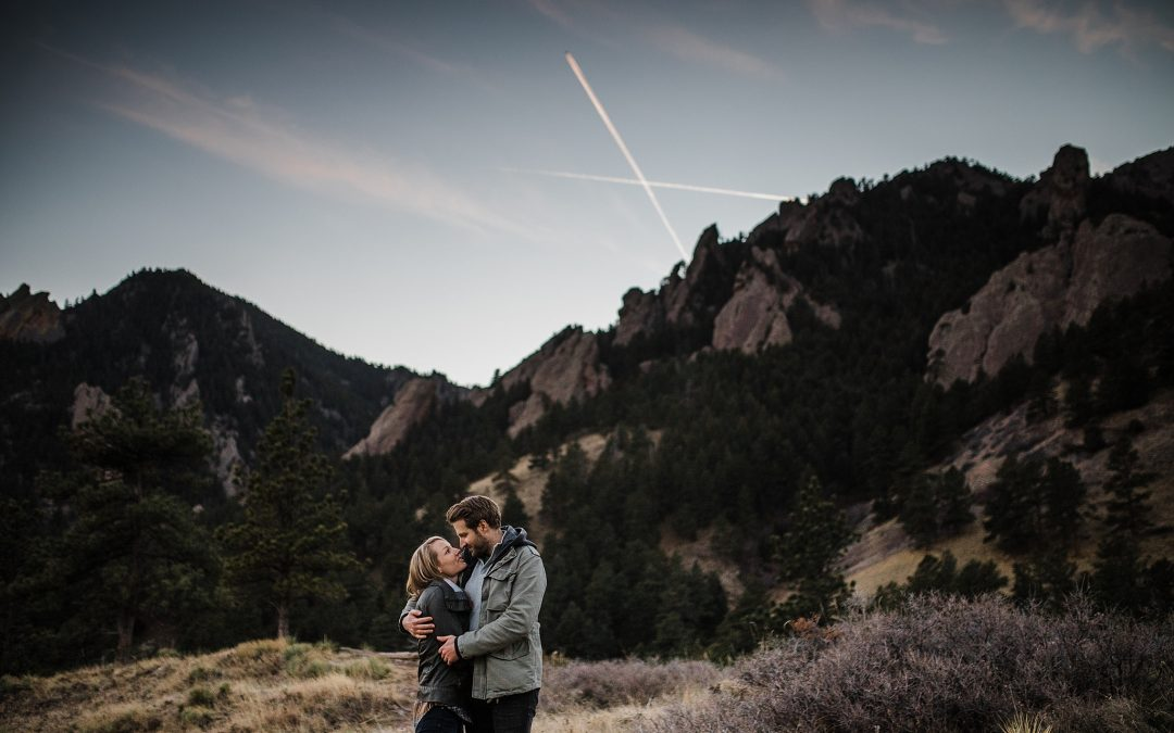 Katie + Jeff – Boulder Engagement Session
